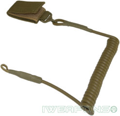 IWEAPONS® Security Belt Cord for Sidearm & Gear - Tan