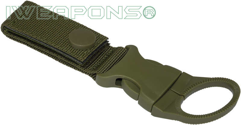 IWEAPONS® Water Bottle Holder for 2inch 5cm Belt - Green