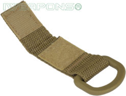 IWEAPONS® D-Ring Attachment for MOLLE - Tan