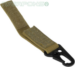 IWEAPONS® Metal Hook Attachment for 2inch 5cm Belt - Tan