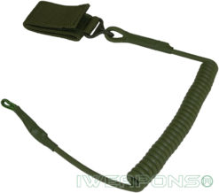 IWEAPONS® Security Belt Cord for Sidearm & Gear - Green