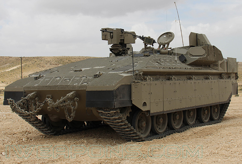 All new Namer APCs will be Equipped with Trophy