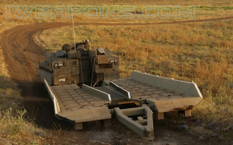 Engineering Namer APC Crossed an Anti-Tank Trench