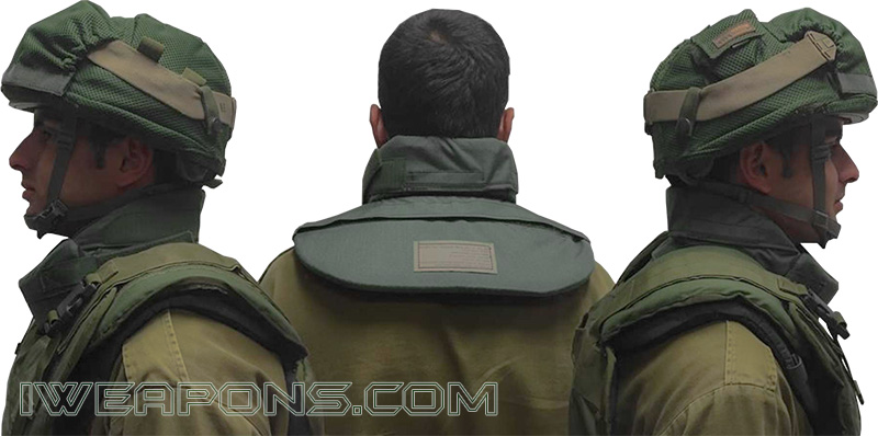 IDF Introduces Anti-Stab Neck Protection for Soldiers