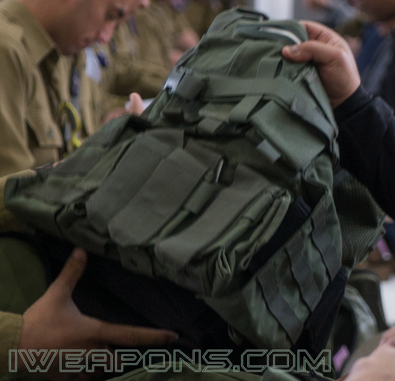 IDF Issues Magnetic Cards for Soldiers to Purchase Gear - Combat Vest