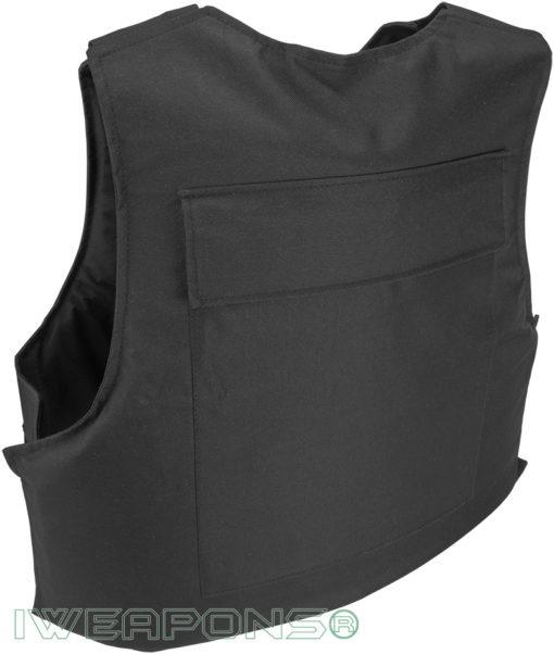 IWEAPONS® Civilian Body Armor Bulletproof Vest IIIA / 3A – Black