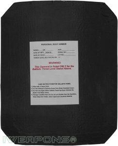 IWEAPONS® Multi Hit VIP Alumina Armor Plate IV