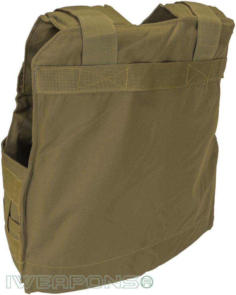 IWEAPONS® Zahal Hashmonai Level III / 3 Bulletproof Vest - Tan