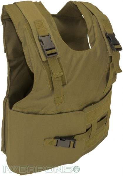 IWEAPONS® Zahal Hashmonai Level III / 3 Bulletproof Vest - Tan