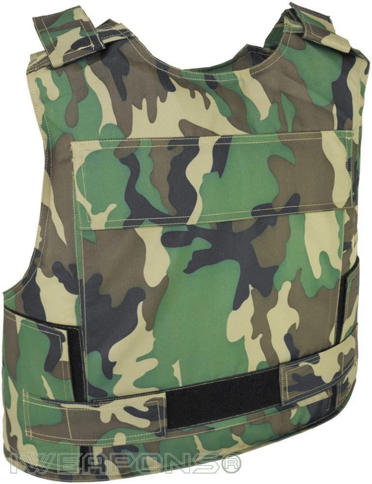 IWEAPONS® Military Patrol Lightweight Camo Bulletproof Vest