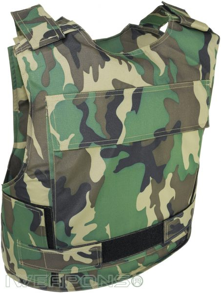 IWEAPONS® Military Patrol Lightweight Camo Bulletproof Vest