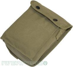 IWEAPONS® IDF Vintage-Style Cotton Canvas Map Bag