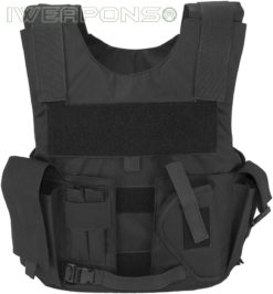IWEAPONS® Patrol Bulletproof Vest with Holster and Mag Pouches
