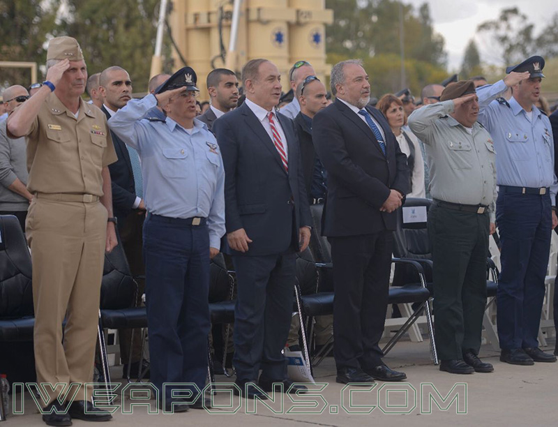 Operational Reception Ceremony of the David's Sling Aerial Defense System
